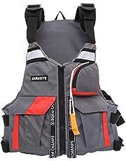 Sklepee Simväst för vuxna, multifunktionella flythjälpmedel badjackor - bärbar uppblåsbar flytväst för vattensporter kajakpaddling båtliv snorkling