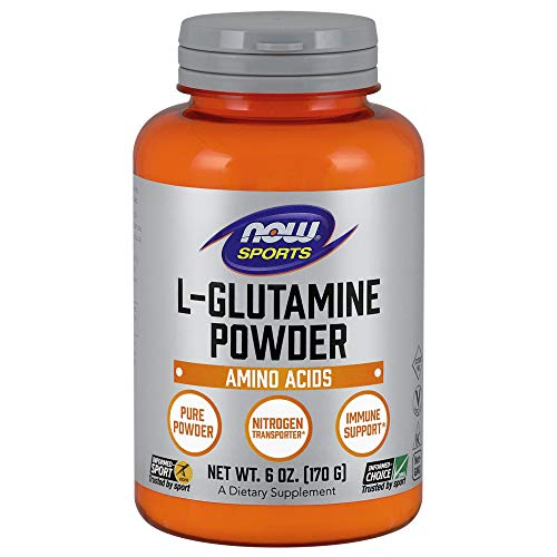 NOW Sports Nutrition, Glutamine Pure Powder, 6-Ounce