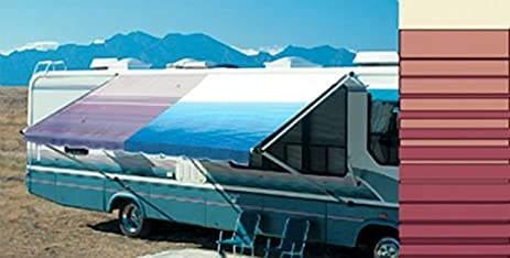 Carefree Of Colorado RV Vinyl Replacement Patio Awning Fabric 16u0027 Bordeaux