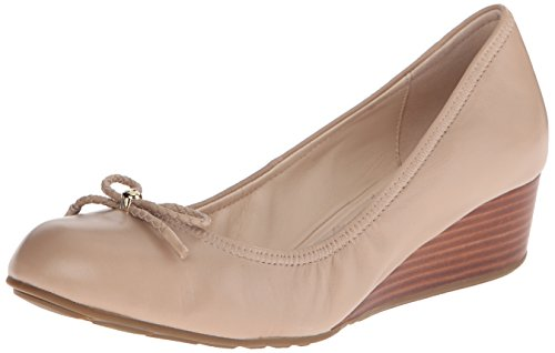 - Cole Haan Women's Tali Grand Lace Wedge Pump 40mm, Maple Sugar, 8.5 B US
