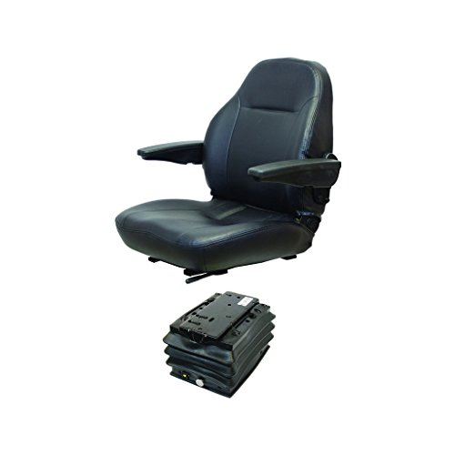 K&M 039-6764 Case 930-1030 Series KM 441 UNI Pro Seat & Air Suspension, with Swivel by K&M