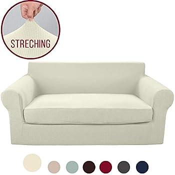 Amazon.com: Vailge - Fundas de sofá grandes de 2 piezas con ...