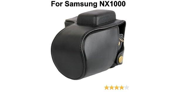 Bolso para camara de Imitacion de Piel para samsung nx1000: Amazon ...