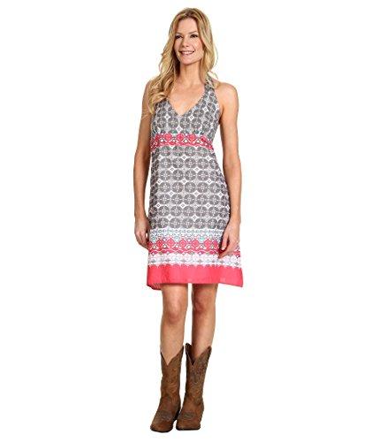 (New Vintage Brdr Prt Halter Dress Stetson Ladies Collection- Spring Ii (l) 11-057-0590-0251GY)