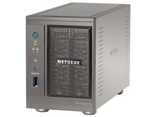 NETGEAR ReadyNAS Ultra 2: 4 TB (2 x 2 TB) Network Attached Storage RNDU2220