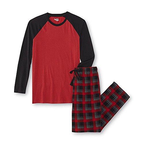 Joe Boxer Clothes (Joe Boxer Men's Pajama Shirt & Pants (2XL, Red))