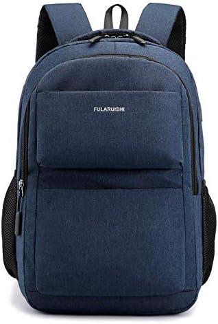 ODMKGE Studententasche wasserdichte Mode Kinder Laptop Rucksack Teen Boy Schultasche Schultasche Großen Rucksack Lässig Männlich Reisetasche Blau