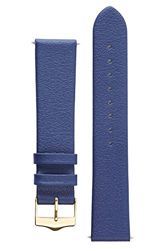 signature-easy-in-blue-14-mm-watch-band-replacement-watch-strap-genuine-leather-gold-buckle