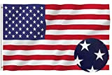 American Flag 3x5 ft, Long Lasting Durable Polyester Flag Built for Outdoor Use