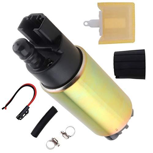 Universal 12V 255LPH Auto High Flow Electric Fuel Pump with Filter Installation Tool for Toyota/Suzuki/Honda/Jeep/KIA/Hyundai/Mitsubishi ()