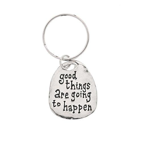 Good Things Pewter Key Ring by Basic Spirit