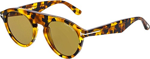 Bunt Havanna Sonnenbrille FT0633 Ford Tom pwx1YZXqY