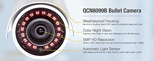 Q-See 5MP HD QC IP Series QCN8099B Security Camera with