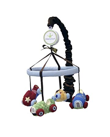 8db9f7099 Amazon.com   Kimberly Grant Musical Mobile Zoom Zoom (Discontinued by  Manufacturer)   Nursery Mobiles   Baby