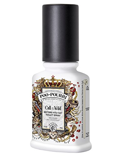 Poo-Pourri Before-You-Go Toilet Spray 2-Ounce Bottle, Call of the Wild Scent (Amazon Com Home compare prices)