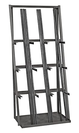 Durham Vbr 8436 95 14 Gauge Steel Vertical Long Parts Storage Rack