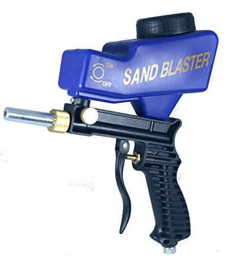 Great Deal! Sandblaster Portable Sand Blasting Nozzle Gun, Gravity Feed Sandblast Gun, Speed Blaster...