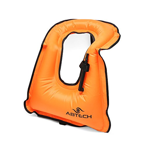 ABTECH Snorkel Vest Inflatable for Adults – Lightweight Buoyancy Life Jacket for Snorkeling and (Buoyancy Control)