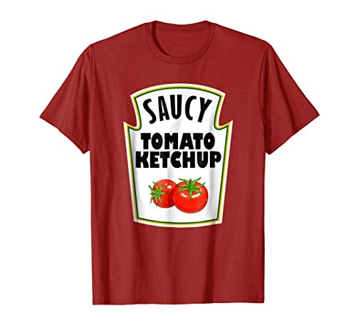 Halloween Costume Ketchup T-Shirt Group Mustard