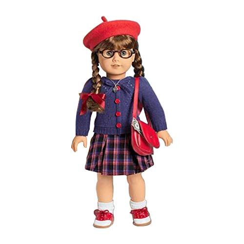 American Girl Molly Doll 1944 + Book + Pajamas + Accessories Set]()