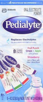 Pedialyte Powder Pack 4 Flavor Variety, 0.3 oz. (Case of 64) by Abbott Nutrition
