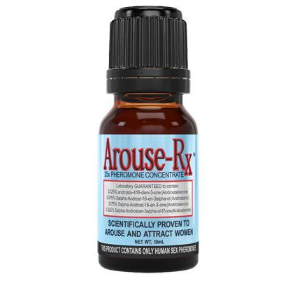 Arouse-Rx Sex Pheromones For Men: Unscented Cologne Additive to Attract Women - 10mL