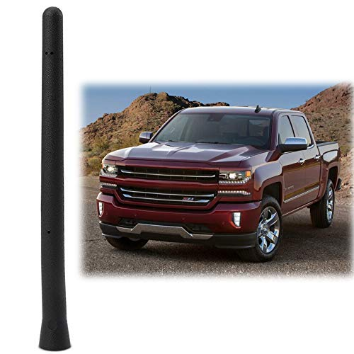 2009 Car Trucks - Car Short Antenna Compatible Fit Chevy Silverado GMC Sierra 2009-2019 | 6 3/4