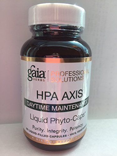 NEW NAME Gaia HPA Axis Daytime Management formerly Adrenal Support (60 caps) by Gaia Professional Solutions HPA Axis Daytime Maintenance