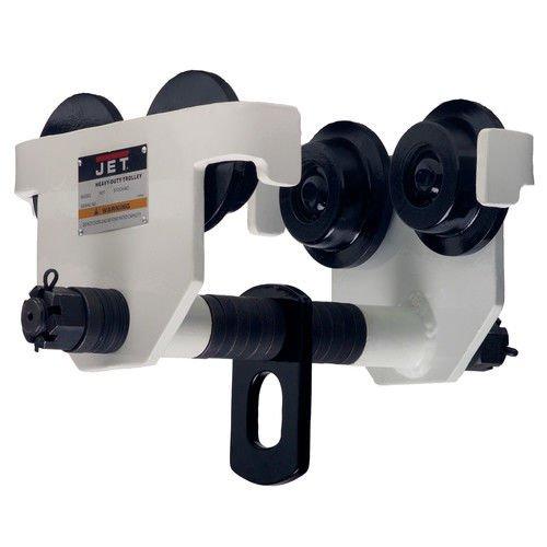 JET 252020 2 PT 2-Ton Capacity Plain Trolley -