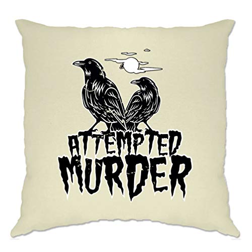 Tim And Ted Halloween Cushion Cover Attempted Murder