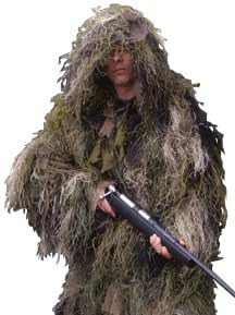 Rothco Ultra Light Ghillie Suit, Camo, Size: XLarge/2XLarge