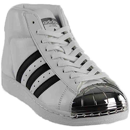 adidas Womens Pro Model Metal Toe Originals Casual Shoe