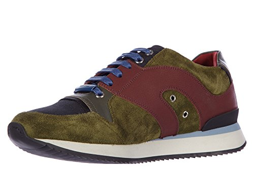 Dior chaussures baskets sneakers homme en cuir b12 vert