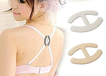 d8bbd231fc1 Image Unavailable. Image not available for. Color  9 Pieces Invisible Bra  Strap Adjust Racer Holders ...