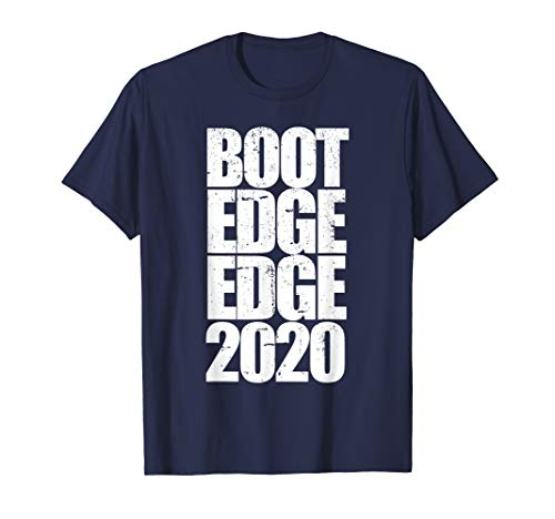 Boot T-shirt A - Boot edge edge 2020 t-shirt Mayor Pete Buttigieg 2020 design