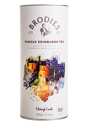 - Brodies Famous Edinburgh Tea (50 Tea Bags in Drum)
