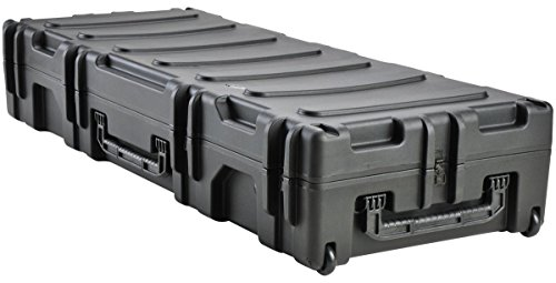 SKB 3R6223-10B-EW Roto-Molded 62 x 23 x 10 Inches Waterproof Case with Wheels and TSA Latches by SKB