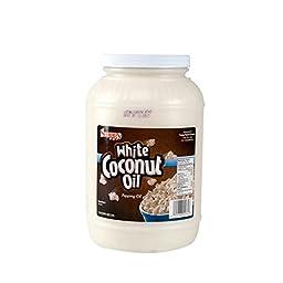 Snappy Popcorn 1 Gallon White Coconut Popping Oil