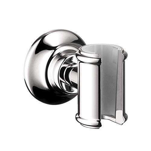 - Axor 16325000 Montreux Wall-Mounted Hand Shower Holder, One Size, Chrome