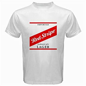511d596971 Red Stripe Beer Logo New White T-Shirt Size