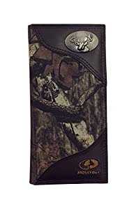 Zeppelin Products Mossy Oak Emblem Camo Long Roper Nylon Wallet, Buck