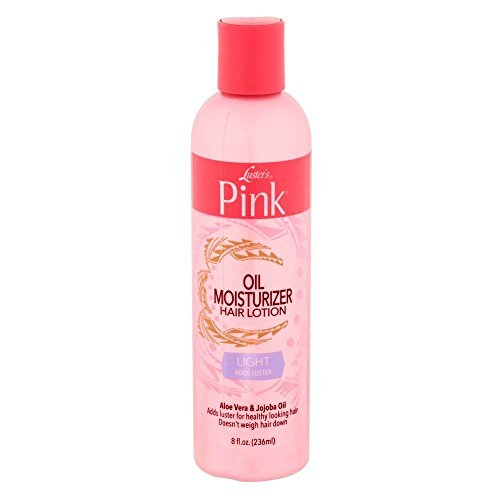 Luster's Pink Oil Moisturizer Hair Lotion Aloe Vera & Jojoba Oil 8 oz ( Pack of - Pink Lotion Hair
