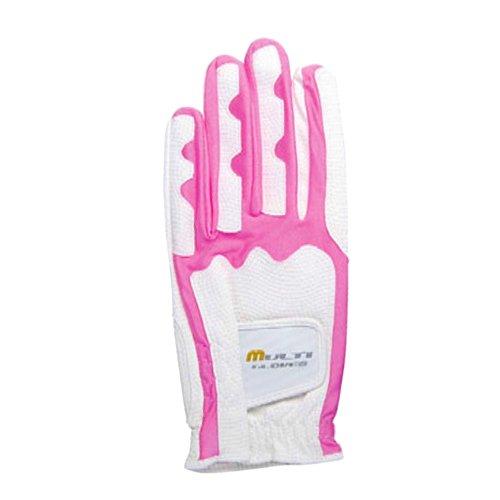 Golf Glove Multi Glove B-270 M 21-23 cm WHITE/PINK