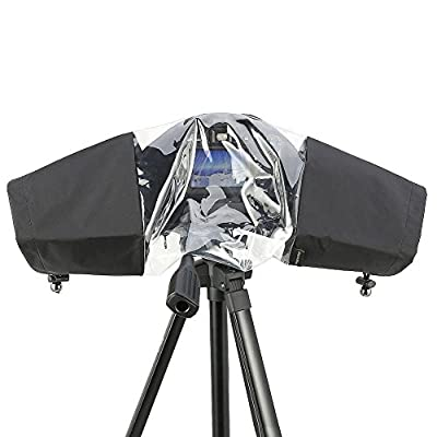 Rain Cover Camera Protector Rainproof for Canon Nikon and Other Digital SLR Cameras by AOREAL from AOREAL