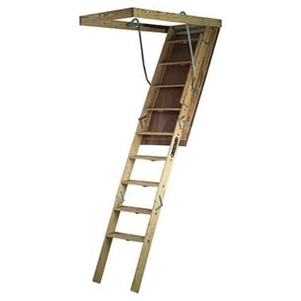 Louisville Ladder S305P Big Boy Wood Attic Ladder 30-Inch by 60-Inch 350  sc 1 st  Amazon.com & Amazon.com: Louisville Ladder S305P Big Boy Wood Attic Ladder 30 ...