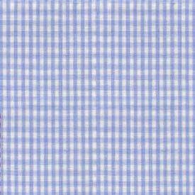 BabyDoll Gingham Cradle Sheet, Light Blue, 15