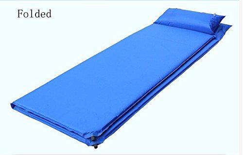ZAY Automatische Inflation Camping Mat Waterproof und Sandproof Decke Outdoor-Teppich Outdoor-Teppich Outdoor-Teppich (Farbe   Blau) B07CQVKP87 | Outlet Online  71339a