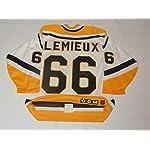 5e9db01320c Mario Lemieux Signed Jersey - Vintage Ccm Center Ice - Autographed NHL  Jerseys.