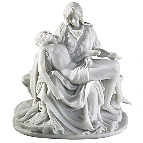 Design Toscano The Pieta (1499) Bonded Marble Medium Statue (Sculpture Replica)