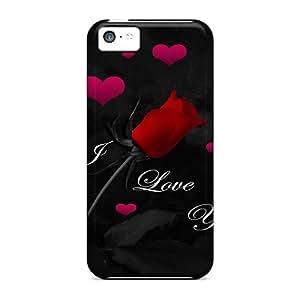 Cute Appearance Cover/tpu LSpSU1918UvjRM Love U Case For Iphone 5c